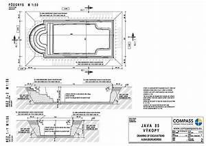 Swimming Pool Construction Diagram