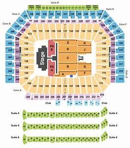Ford Field Seating Chart Concert Concert Venues In Detroit Mi Concertfix Com