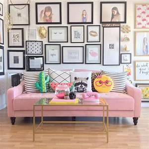 Ideas about pink sofa on vintage