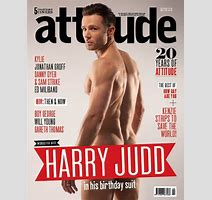 Harry Judd Strips Off Again For Attitude Magazine S Th Anniversary Issue Daily Mail Online