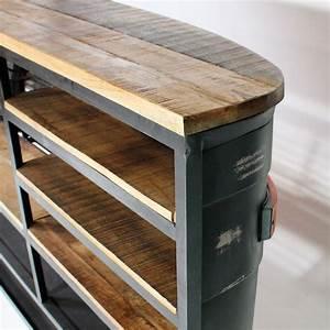 Bar Style Industriel : bar industriel metal tata plus meilleur inspirations chaise de bar d occasion ~ Teatrodelosmanantiales.com Idées de Décoration