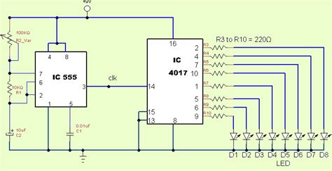 led light chaser circuit diagram led chaser circuit diagram 26 wiring diagram images