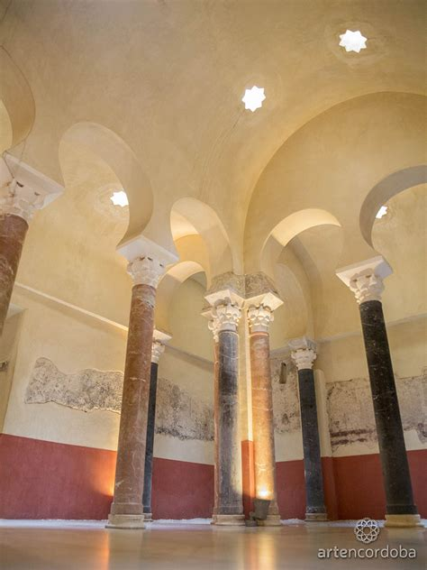 """Baños Árabes Del Alcázar Califal De Córdoba """"baños"""