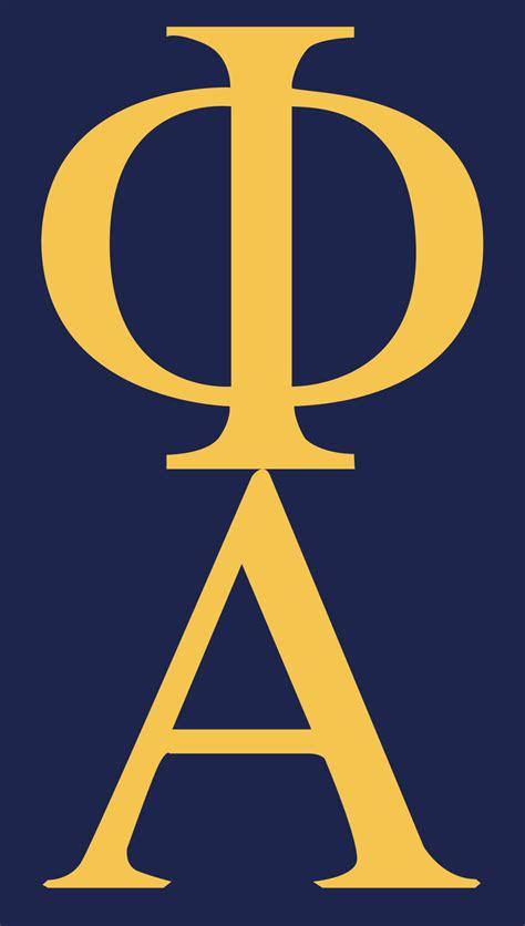 Alpha phi alpha Logos
