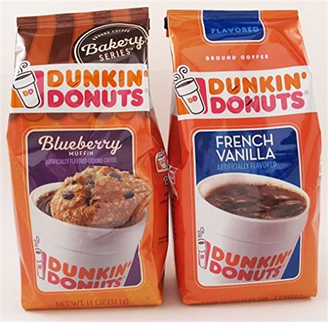 There are 590 calories in a coffee cake muffin from dunkin donuts. Dunkin' Donuts Blueberry Muffin & French Vanilla 2 Pack Variety, New, Free Shipp | eBay