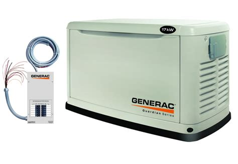 Generac Guardian 5873 17kW Air Cooled Standby Generator at ...
