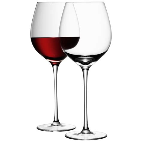 Crystal stemless red wine glass set. Buy LSA International Wine Red Wine Glasses - Set of 4 | Amara