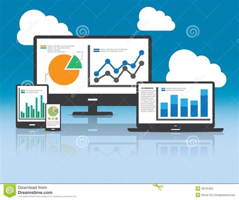 Website And Seo by Web And Seo Analytics Concept Illustration Stock Vector