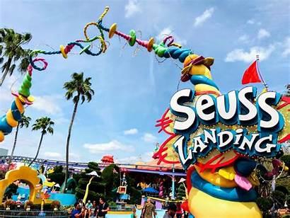 Universal Orlando Studios Seuss Landing Children Adventure