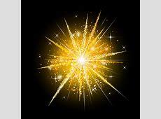 Golden fireworks holiday vector Vector Festival free