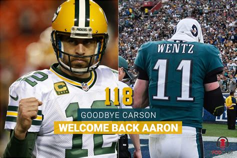 carson wentz fallout   return  aaron rodgers