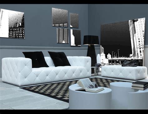 nella vetrina venus ven italian designer white leather sofa