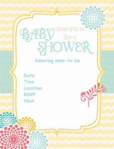 Free Printable Baby Shower Invitations - Baby Shower Ideas