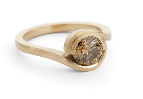 'wave' Rose Gold Engagement Ring With Cognac Diamond. Princess Disney Engagement Rings. Nickel Free Wedding Rings. Color Gemstone Engagement Rings. Super Cool Engagement Rings. Exclusive Wedding Wedding Rings. Navel Rings. Partner Wedding Rings. Gold Indian Engagement Rings