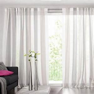 Vorhänge Weiß Grau : gardinen grau wei gestreift haus design ideen ~ Watch28wear.com Haus und Dekorationen