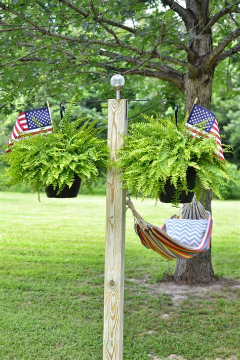 4 Pole Hammock by 12 Diy Hammock Stands For Total Relaxation Diys To Do