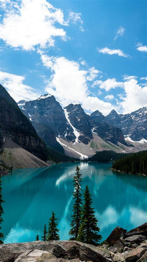 wallpaper moraine lake lake louise banff national park