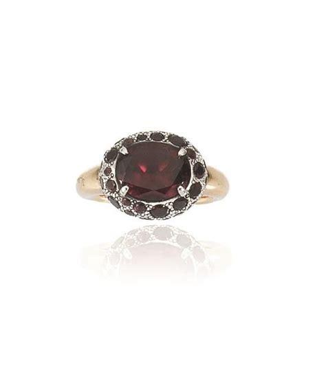 anelli pomellato argento anello pomellato in oro rosa argento e granato