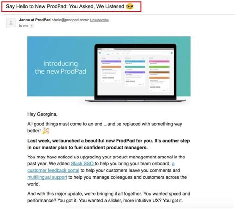 New Product Launch Email Template 25 Product Launch Announcement Email Exles From Real