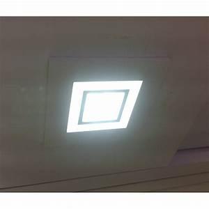 Spot Carré Led : spot led 6w carr encastrable avec double ambiance sow ~ Edinachiropracticcenter.com Idées de Décoration