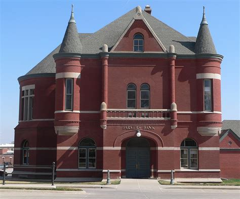 First national of nebraska ranks as one of the 50 largest banks in the united states. File:Nebraska City Farmers Bank from W 1.JPG - Wikimedia ...