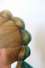 Bubble Hairstyle