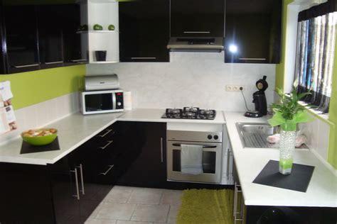 meuble de cuisine noir laqué meuble cuisine noir laque