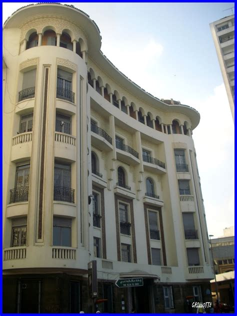 panoramio photo of immeuble deco casablanca