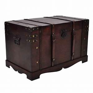 Coffre Rangement Bois : coffre de rangement en bois brun ~ Teatrodelosmanantiales.com Idées de Décoration