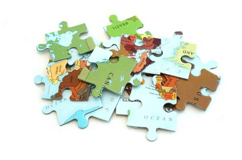 World Map 70 Piece Jigsaw Puzzle for Kids - Where Exactly Maps