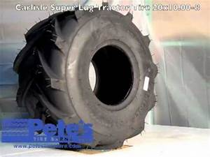 Carlisle Super Lug Tractor Tire 20x10 00-8