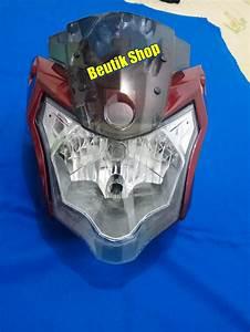 Jual Kedok Headlamp Lampu Depan Reflektor Vixion New