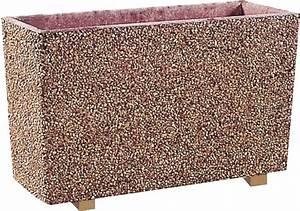 Bac A Fleur En Beton Rectangulaire : bac fleurs en b ton 101 ~ Edinachiropracticcenter.com Idées de Décoration