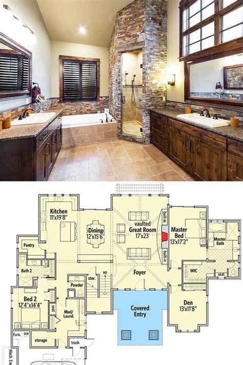 4 Bedroom Two Story Craftsman Home with Bonus Room (Floor