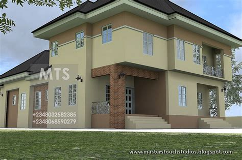 modern  contemporary nigerian building designs  bedroom pent house suite