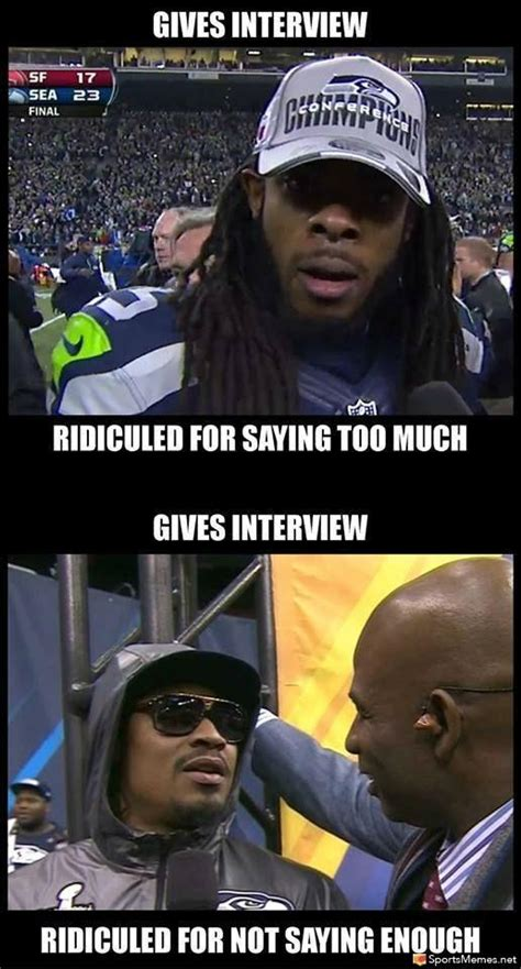 Marshawn Lynch Memes - marshawn lynch interview meme