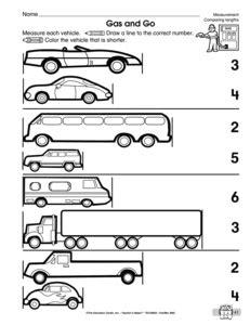 13 best images of comparing length worksheets grade 2