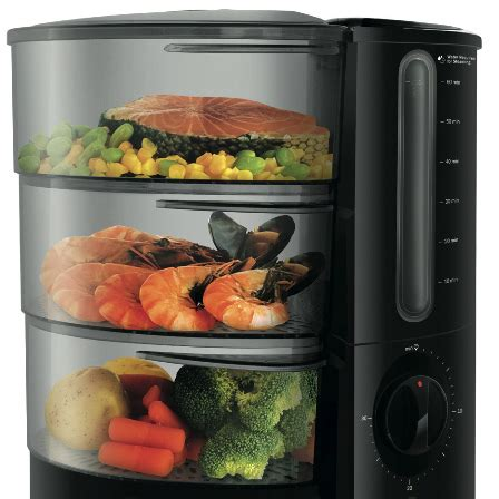 review electric food steamers  world