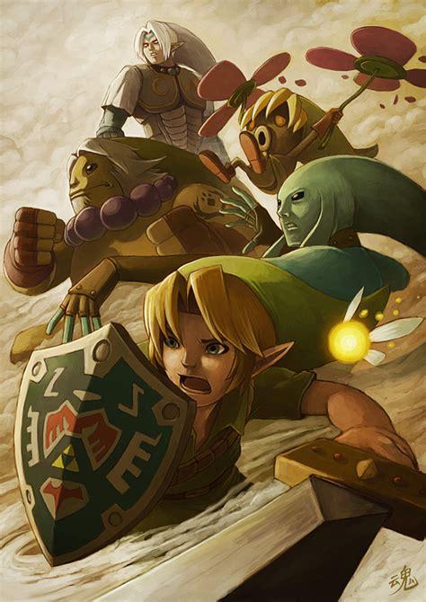 A Gallery Of Cool Zelda Art By Ryan Shiu