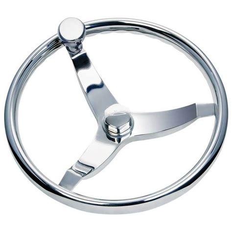 Boat Steering Wheel by Marine Steering Vision Elite 13 1 2 Quot Steering