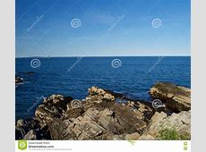 Beautiful Maine Coastline stock photo Image of maine