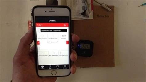 wireless thermometer iphone how to pair the cappec blaze wireless bluetooth