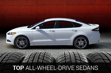 Best 2015 All Wheel Drive Sedans