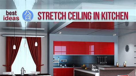 The Stretch Ceiling In The Kitchen by Stretch Ceilings In The Kitchen 30 Ceiling Design Ideas