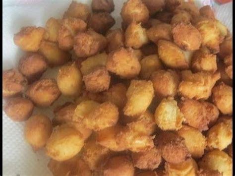 cuisine ivoirienne chin chin recipe croquettes snacks