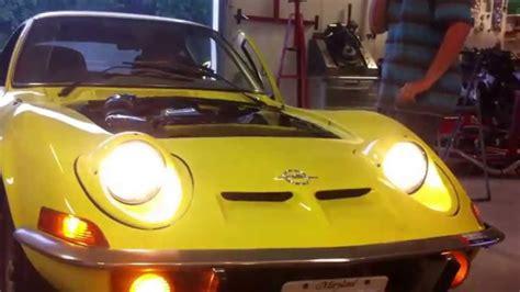 Opel Gt Headlights opel gt awesome headlights