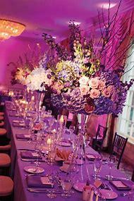 Pink and Purple Wedding Centerpiece Ideas