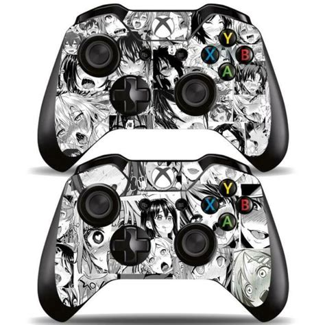 Xbox One Controllers Remote Ahegao Funny Girls Anime Vinyl