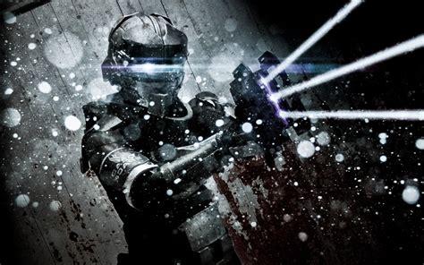 dead space video games paint splatter wallpapers hd