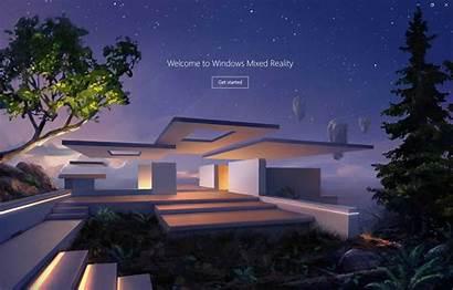 Reality Mixed Windows Virtual Portal